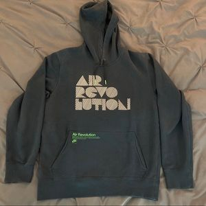 Nike Air Revolution hoodie black size medium